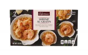 Taste of Inspirations Shrimp Au Gratin