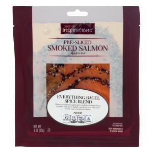 Everything Bagel Spice Smoked Atlantic Salmon
