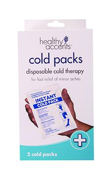 Healthy Accents Instant Cold Packs