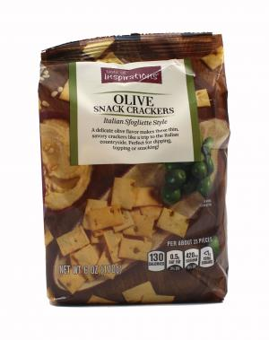 Taste of Inspirations Olive Snack Crackers