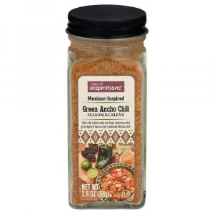 Taste of Inspirations Green Ancho Chili Seasoning Blend