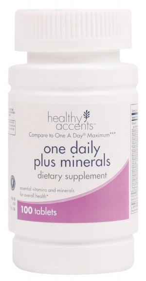 Healthy Accents One Daily Plus Minerals