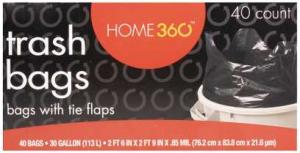 Home 360 Trash Bags
