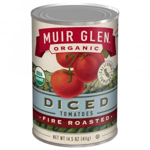 Muir Glen Organic Fire Roasted Diced Tomatoes