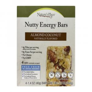 Nature's Place Almond Coconut Nutty Energy Bars