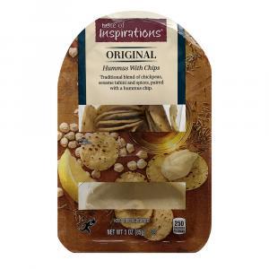 Taste of Inspirations Original Hummus with Hummus Chips