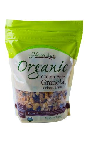 Nature's Place Organic Gluten Free Granola Crispy Fruit