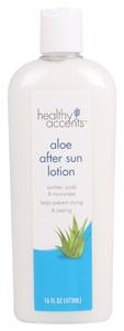 Healthy Accents Aloe After Sun Lotion