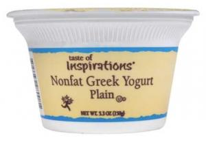 Taste Of Inspirations Nonfat Greek Yogurt Plain