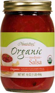 Nature's Place Organic Medium Salsa