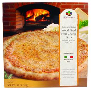 Taste Of Inspirations Four Cheese Pizza