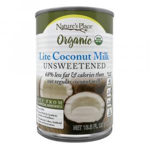 Nature's Place Organic Lite Coconut Milk