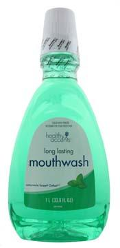 Healthy Accents Long Lasting Mint Mouthwash