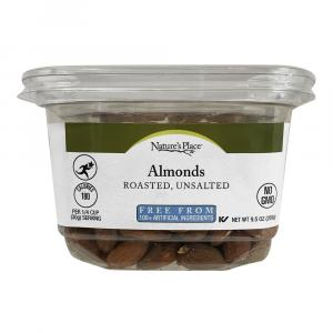 Nature's Place Roasted, Unsalted Almonds