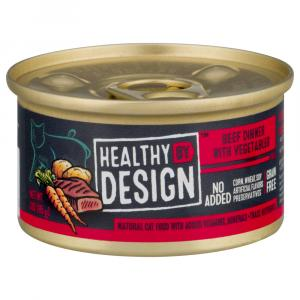 Healthy By Design Beef Dinner with Vegetables Pate Cat Food