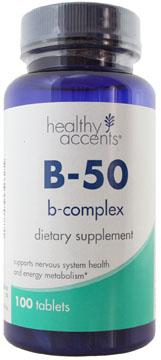 Healthy Accents B-50 Complex Tablets