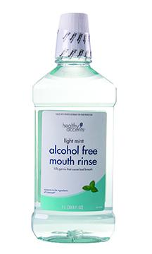 Healthy Accents Mint Alcohol Free Antiseptic Mouth Rinse