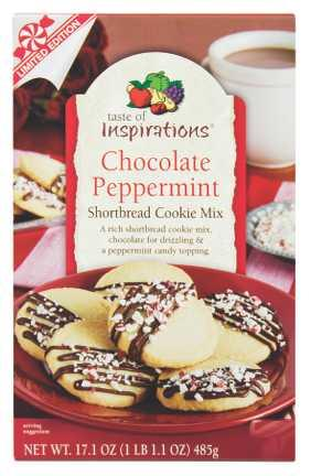 Taste of Inspirations Shortbread Cookie Mix