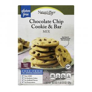 Nature's Place Gluten Free Chocolate Chip Cookie Mix