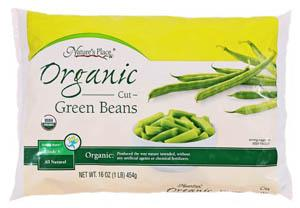 Nature's Place Organic Frozen Cut Green Beans