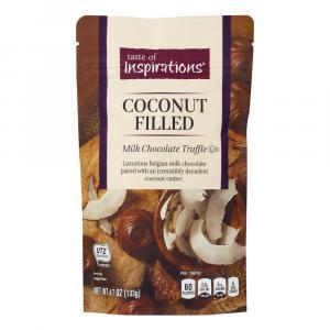 Taste of Inspirations Milk Chocolate Coconut Truffles