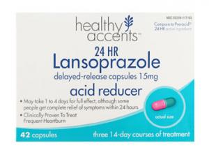 Healthy Accents 24-hour Lansoprazole Acid Reducer Caps 15mg