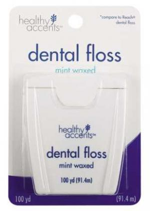 Healthy Accents Mint Dental Floss