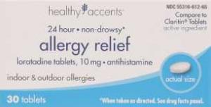 Healthy Accents Loratidine Allergy Relief