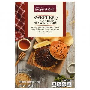 Taste of Inspirations Sweet BBQ Burger Blend
