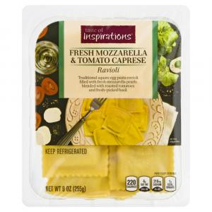 Taste of Inspirations Mozzarella Tomato Caprese Ravioli