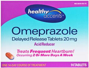 Healthy Accents Omeprazole