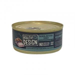 Healthy By Design Chicken + Whitefish Dinner Cat Food