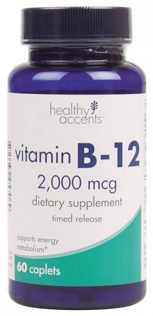 Healthy Accents Vitamin B-12 2000 Mcg Caplets