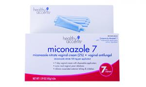 Healthy Accents Miconazole 7 Day Vaginal Cream