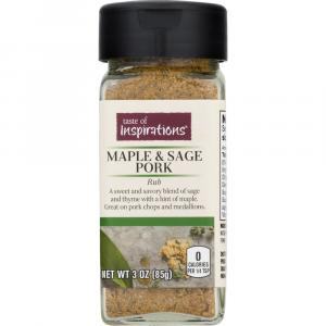 Taste Of Inspirations Maple & Sage Pork Rub