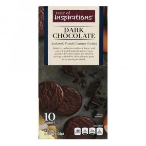 Taste of Inspirations Dark Chocolate Cookies
