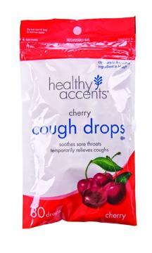 Healthy Accents Cherry Cough Drops
