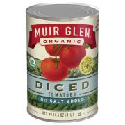 Muir Glen Organic No Salt Diced Tomatoes
