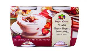 Taste Of Inspirations Greek Strawberry Yogurt
