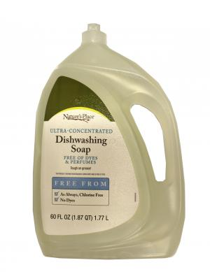 Nature's Place Ultra Concentrated Liquid Dish Detergent