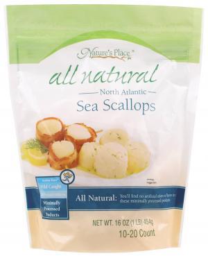 Nature's Place 10/20 Sea Scallops