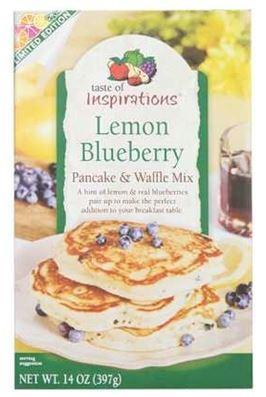 Taste of Inspirations Lemon Blueberry Pancake Mix