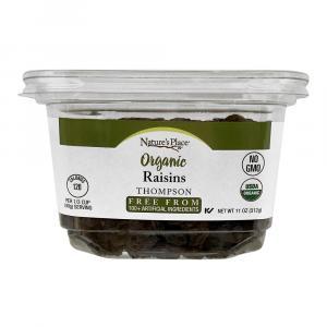 Nature's Place Organic Thompson Raisins