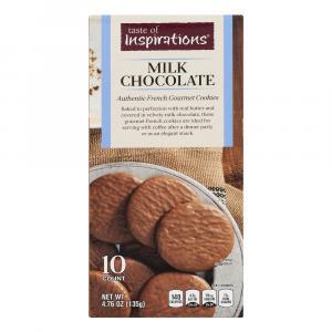 Taste of Inspirations Milk Chocolate Cookies