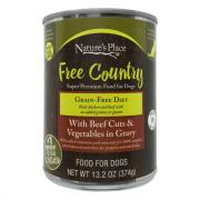 Nature's Place Beef and Vegetables Wet Dog Food