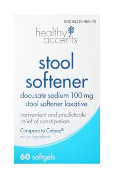 Healthy Accents Stool Softener