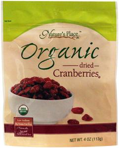 Nature's Place Organic Cranberries