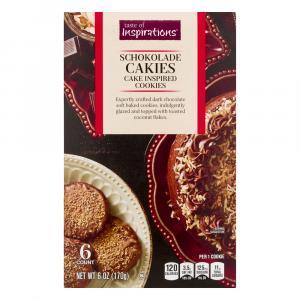 Taste of Inspirations Schokolade Cakies Cake Inspired Cookie