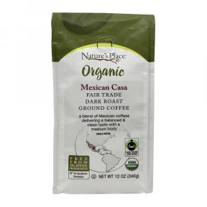 Nature's Place Fair Trade Mexican Casa Ground Coffee