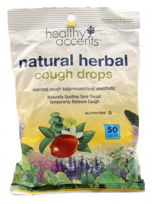 Healthy Accents Natural Herbal Cough Drops